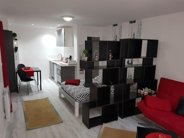 Appartement 1 à 4 personnes proche ttes commodités