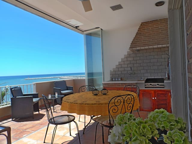 Beach Penthouse with stunning views - Quarteira - Pis