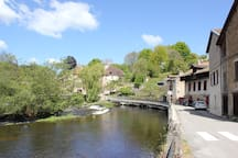Eymoutiers - Vienne river