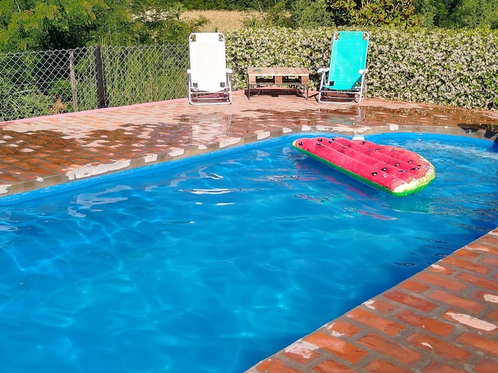 Ńacurutú relax en hostería rural parque/piscina *C