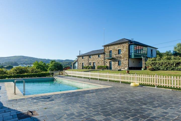 Casa rural con encanto - La Coruña