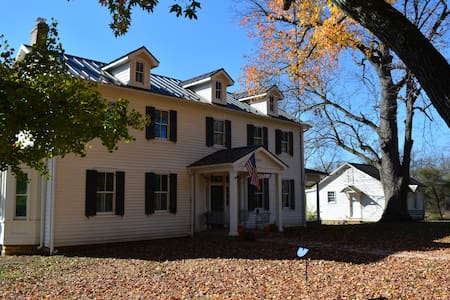 Guest House at 1796 Historic Home - Lovettsville