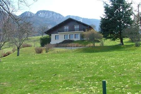 Villa Overlooking Lake Annecy - Saint-Jorioz - Talo