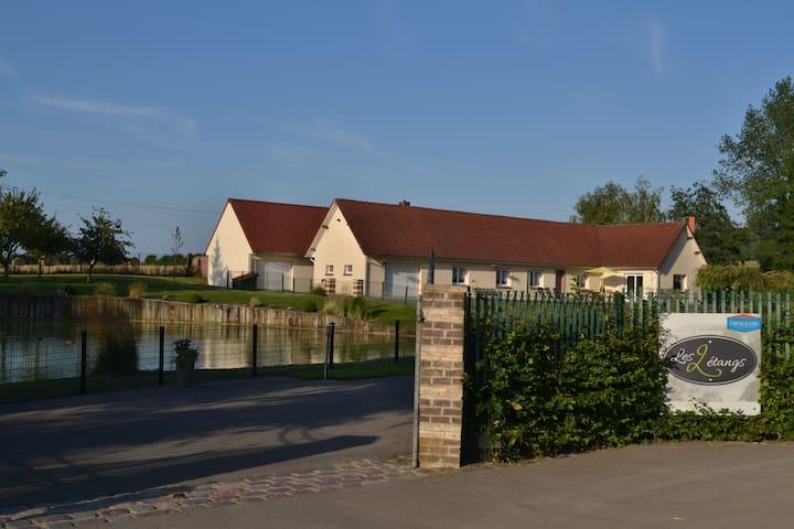 Gîte Les 2 étangs - Samer - House