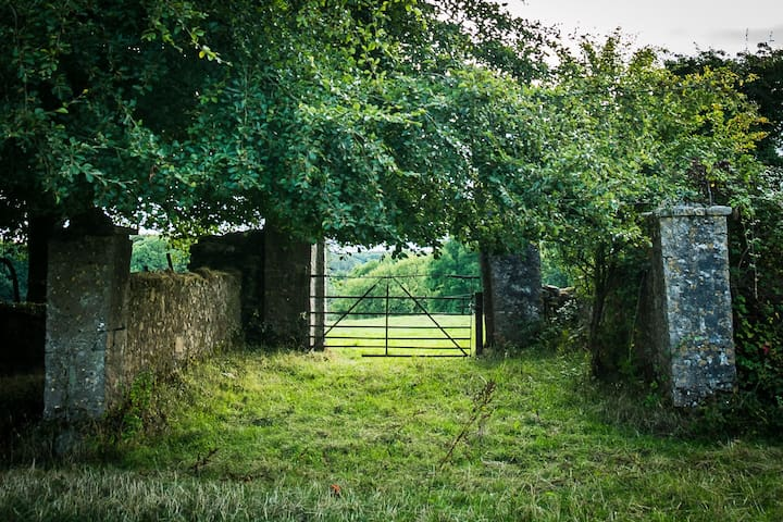 Farm gate at Mount Briscoe