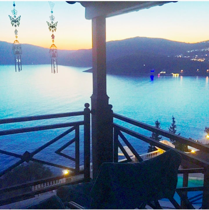 Stunning sea view apartment No:32 at KALKAN