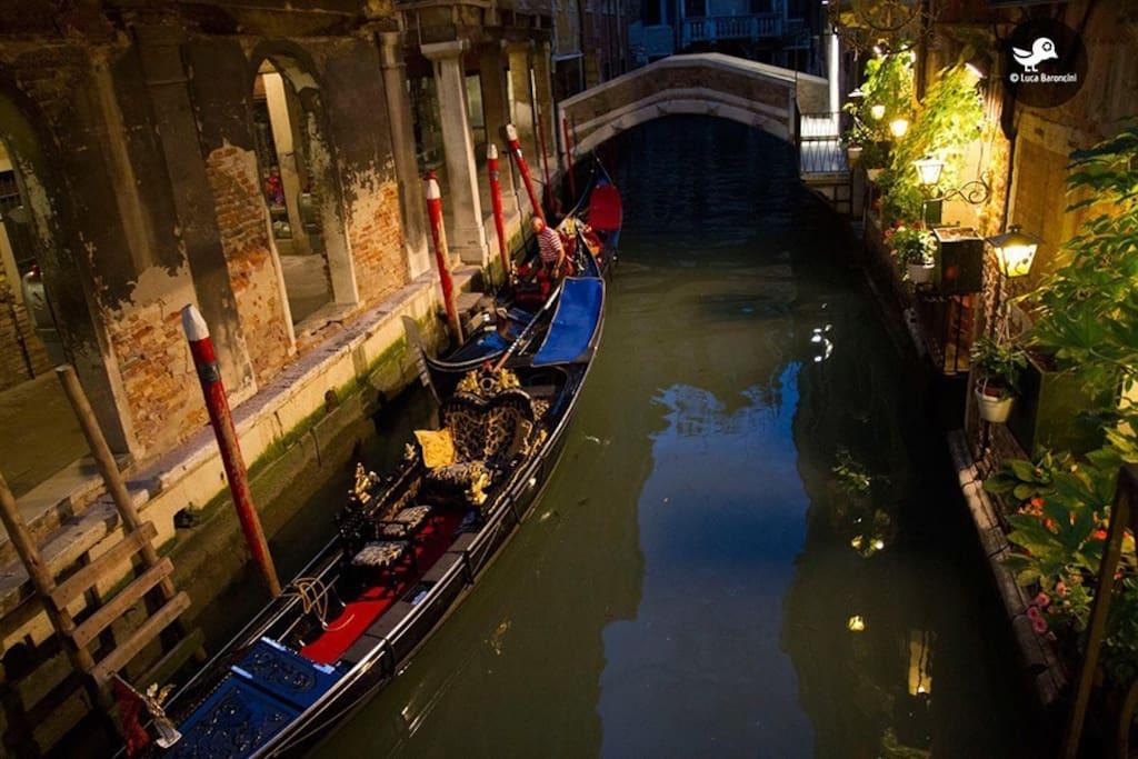 Entrata sul canale