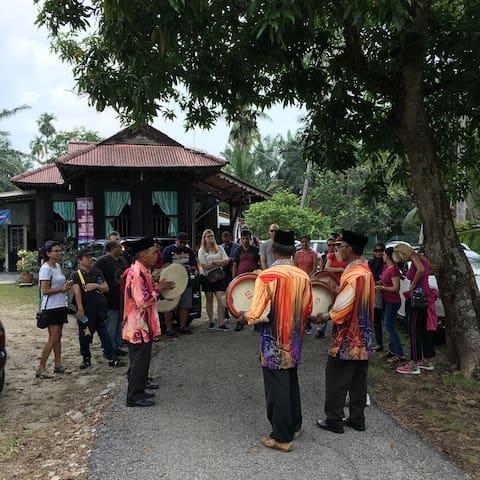Malay Tradisional Home - Batang Berjuntai