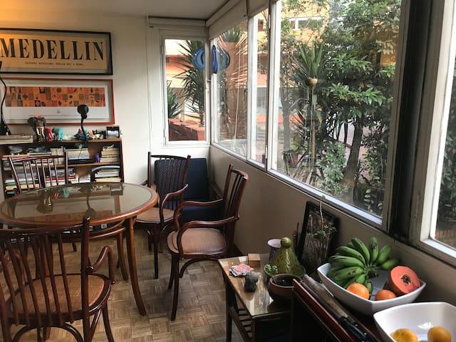 Un espacio amable y cómodo para estar en Bogotá