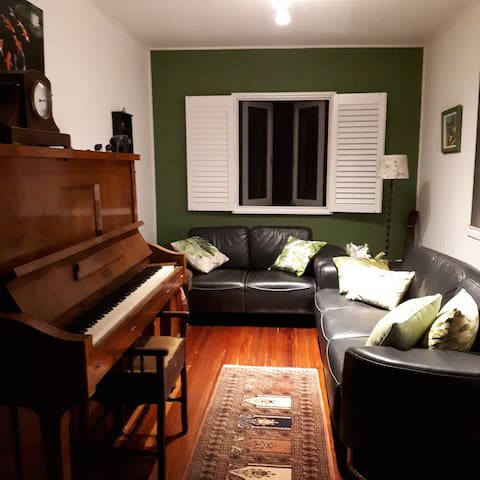 Lounge with Pianola