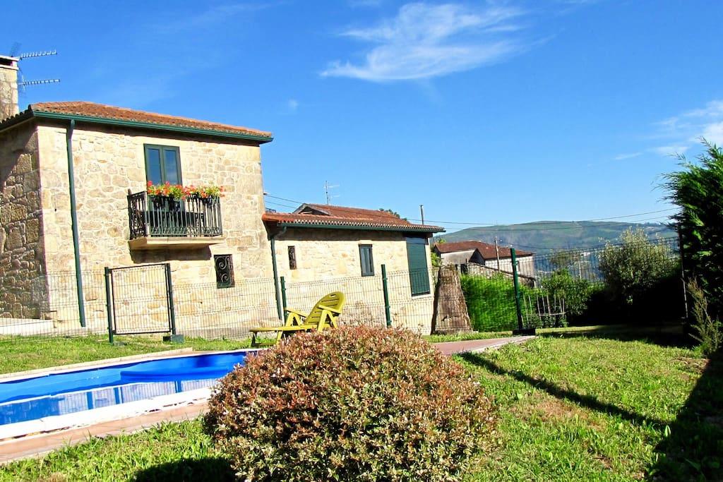 Casa fontenla casas en alquiler en campo lameiro - Casas de campo en galicia ...