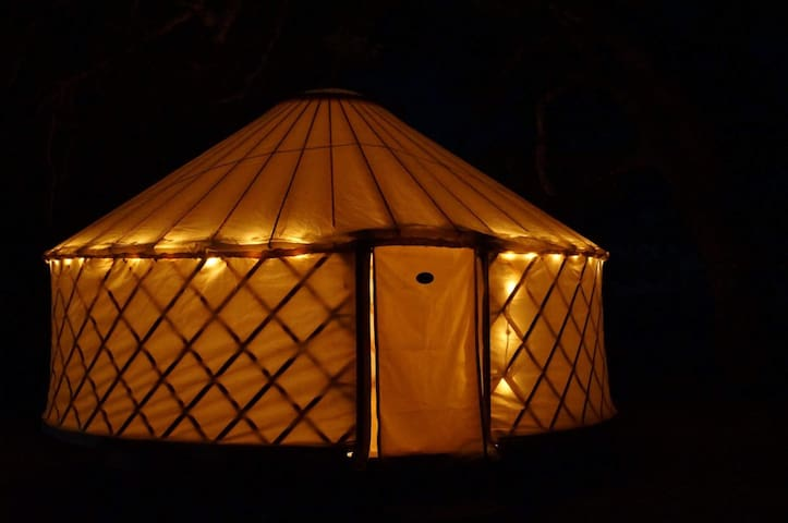Gorgeous Natural Hand-Made Yurts
