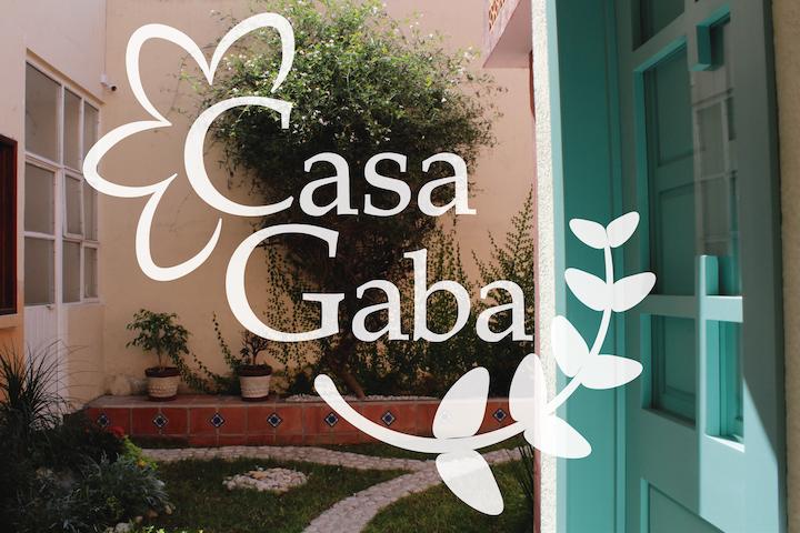 """""""Casa Gaba"""": Rincón acogedor estilo colonial."""