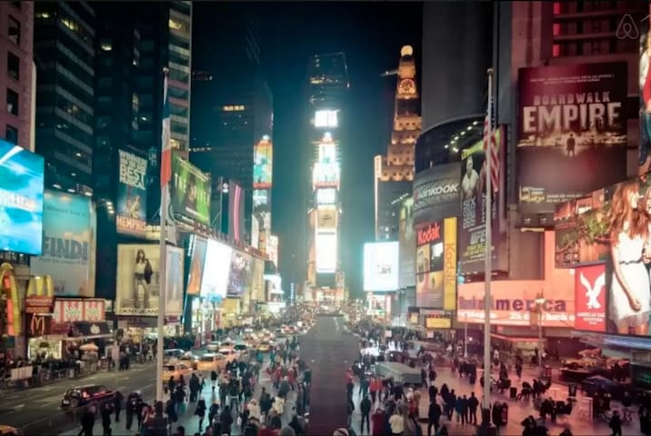 Just 8 minutes walk away from Times Square