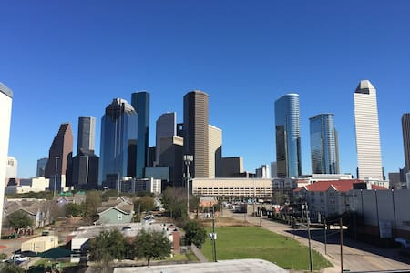 Downtown Townhouse Amazing City View. 3 Bedroom - Houston - House