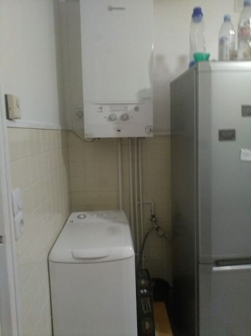 Lave-linge, chauffe-eau, gaz