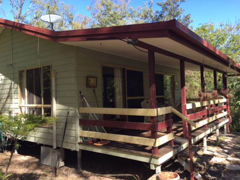 Self contained private cabin in a bushland setting for Self contained cabin