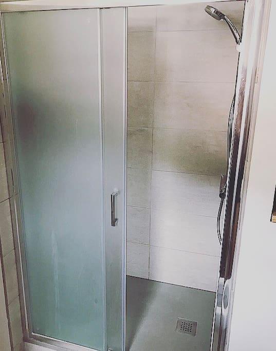 Large luxury shower