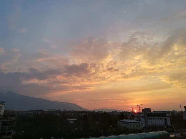 "Apartment with amazing view of  ""Vitosha"" mountain"