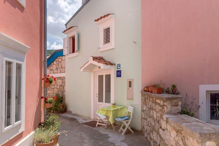 Unique, picturesque house in Miholašćica