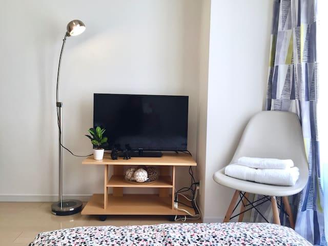 【The Shin-Sekai Room】New Studio for 3/Free Wifi/O5 - Naniwa-ku, Ōsaka-shi - Huoneisto