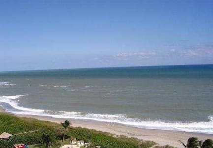 Beachfront Condo With Ocean Views - Juno Beach - Pis