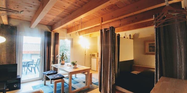 Appartement an der Elsterbrücke