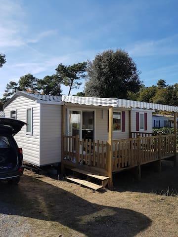 A louer Mobil home tout confort  côte atlantique