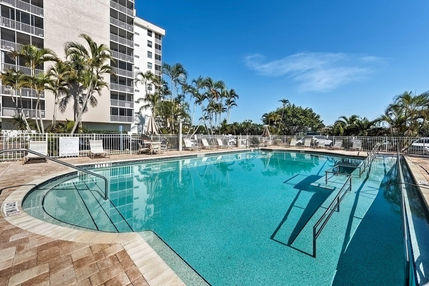 This 1-bath vacation rental studio for 4 is newly-renovated and near the beach.