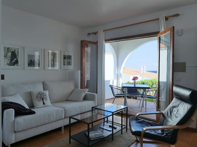 Beautiful apartment with views to the sea - Arenal d'en Castell