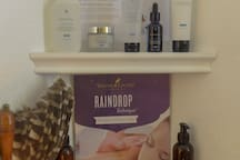 Skinceuticals Skin Care products and Young Living Essential Oils are used in the Holistic Healing Therapies.