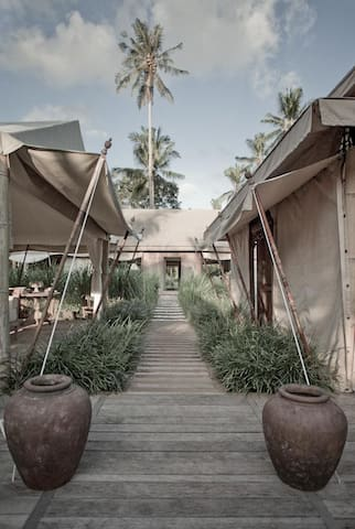 Bali Beach Glamping (Superior Deluxe Tent)