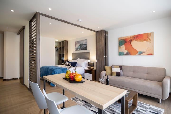 Apartamento amoblado para una estadía muy cómoda
