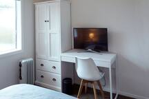 Cosy double room & single room