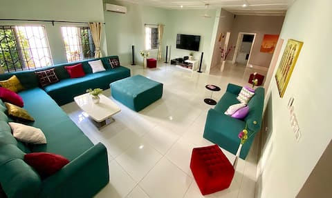 Lukas Garden House Accra with Pool, Gym