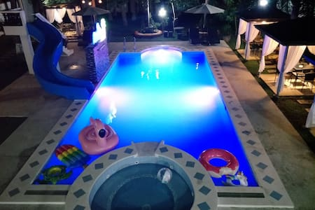 Modern inspired private resort
