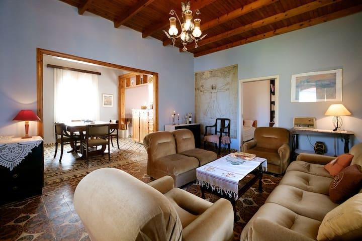 Vintage style cozy Cretan Home - Pirgos Psilonerou - Huis