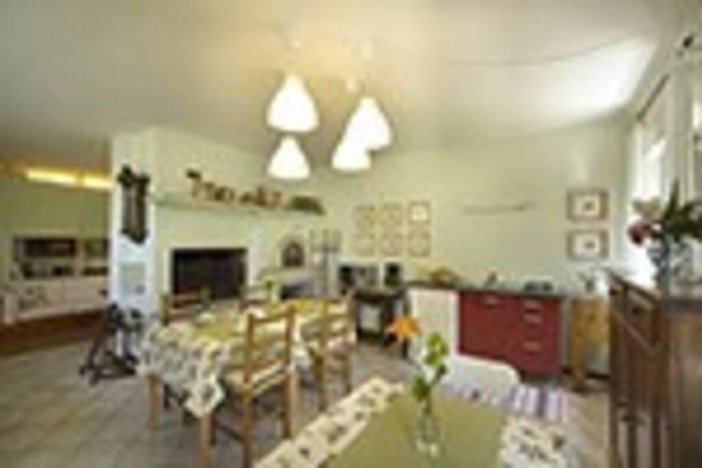 Sala colazione/cucina