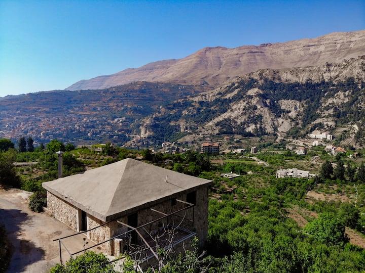 Near Qadisha valley and all the touristic sites