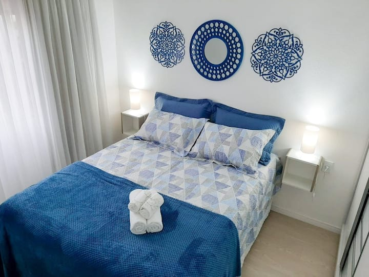 Confortável e acolhedor apt na Av. Brasil