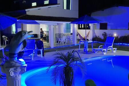 Casa de Praia 4 quartos - Melhor Condominio Ilha