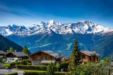 Heart of Verbier - Amazing Views - Cosy - 5 Guests