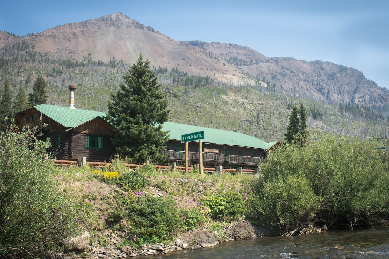 The Range Rider's Lodge.