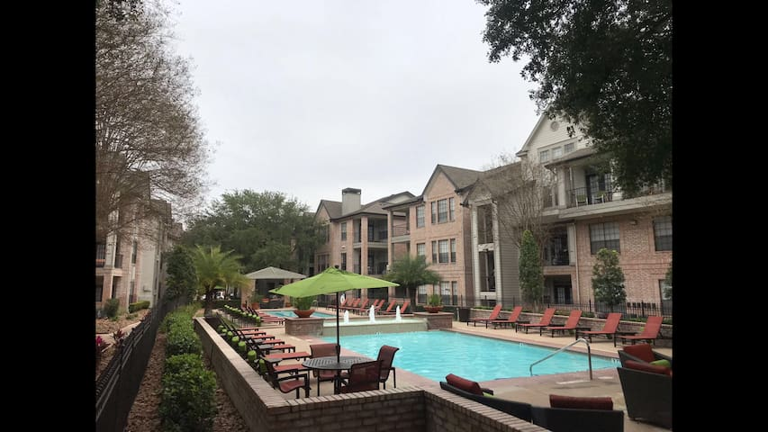 Shared Male Room@TMC-MD Anderson-NRG 2BR/2BT Condo