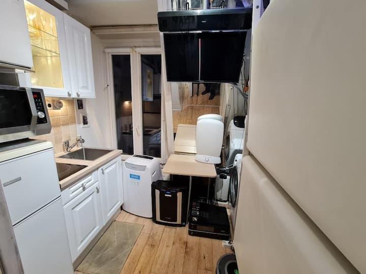 Heart of Paris top equipped loft