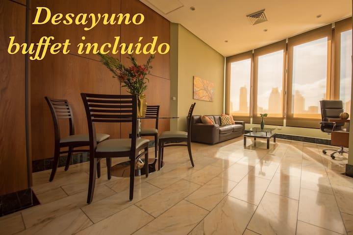 Luxury and city centerTorres de Alba Apartment