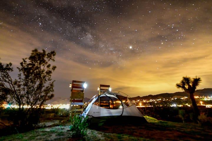 Joshua Tree Glampground - Hillcrest Camp