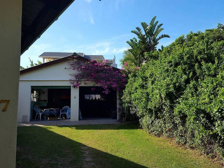 Lounge in garage