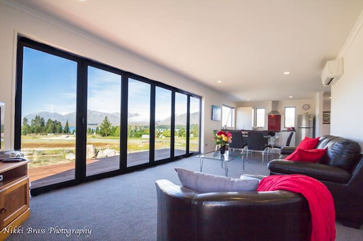 Starlight View - 3 bedroom 2 bathroom house - Lake Tekapo - Ev