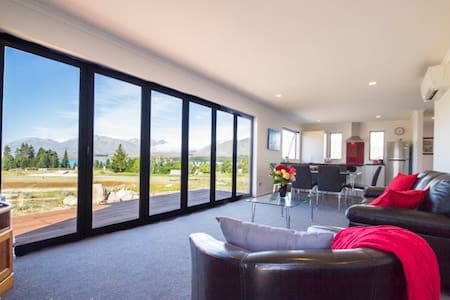 Starlight View - 3 bedroom 2 bathroom house - Lake Tekapo - Dom